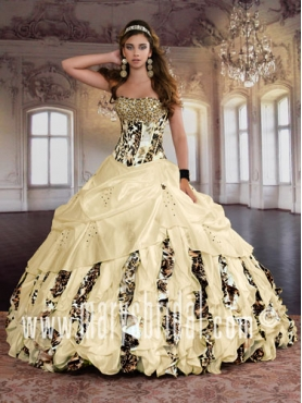 Discount 2012 Gorgeous Ball gown Strapless Floor-length Quinceanera Dresses Style S12-4Q767