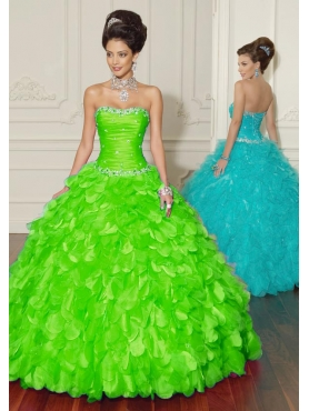 Discount 2012 New style ball gown sweetheart-neck floor-length quinceanera dresses 88015