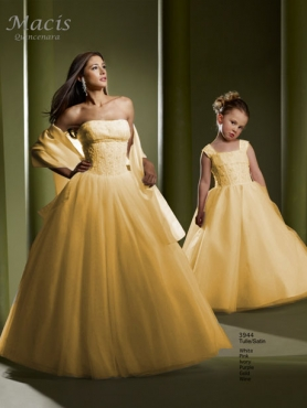Discount Fascinating ball gown strapless floor-length sleevelessl Macis Quinceanera Gown 3944