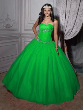 Discount 2012 Beautiful ball gown sweetheart-neck floor-length quinceanera dresses 56208