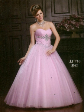 Discount 2012 Pretty Ball gown Sweetheart  Floor-length Quinceanera Dresses Style AFJJ710