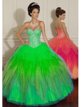Discount 2012 Special ball gown sweetheart-neck floor-length quinceanera dresses 88006