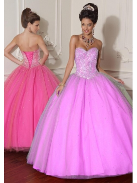Discount 2012 Wonderful ball gown sweetheart-neck floor-length quinceanera dresses 88014