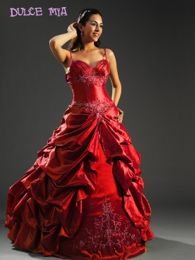 Discount Fascinating ball gown strap floor-length sleeveless formal prom dress Dulce Mia 991778
