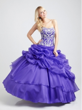 Discount Allure Quinceanera Dresses Style Q350