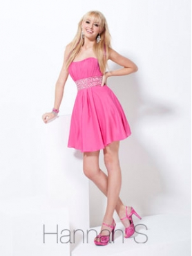Discount Hannah S Homecoming Dress Style 27733