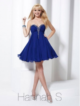 Discount Hannah S Homecoming Dress Style 27743