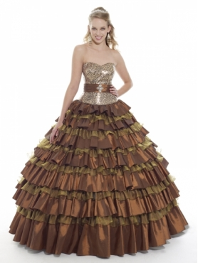 Discount Moon Light Quinceanera Dresses Style Q521