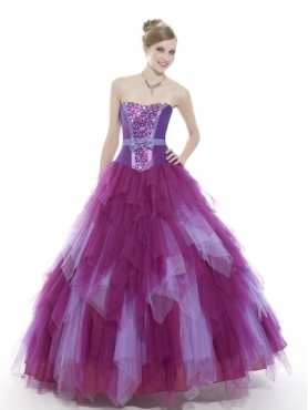 Discount Moon Light Quinceanera Dresses Style Q522