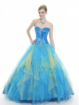 Discount Moon Light Quinceanera Dresses Style Q532