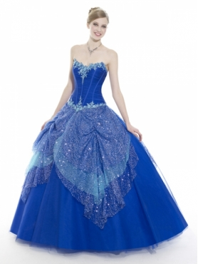 Discount Moon Light Quinceanera Dresses Style Q533