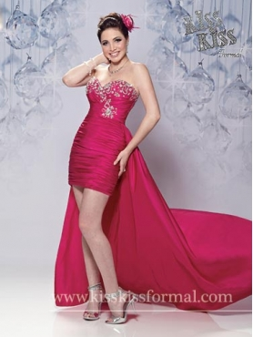 Discount Short Sweetheart Homecoming Dresses Style F12-P3307