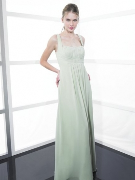 Discount Straps Floor-length Bridesmaid Dresses Style MT9137