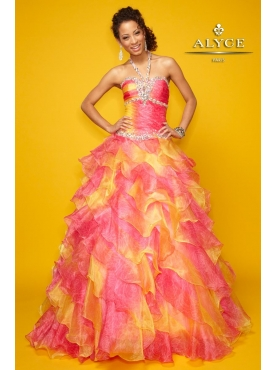 Discount Alyce Quinceanera Dress Style 9113