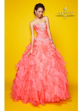 Discount Alyce Quinceanera Dress Style 9114
