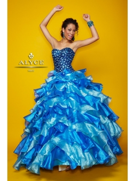 Discount Alyce Quinceanera Dress Style 9117
