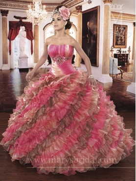 Discount Marys Quinceanera Dresses Style S13-4Q831