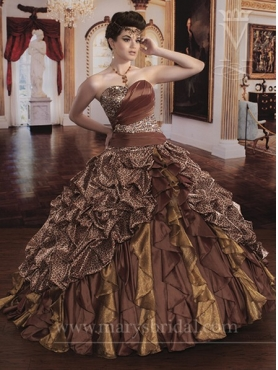 Discount Marys Quinceanera Dresses Style S13-4Q835