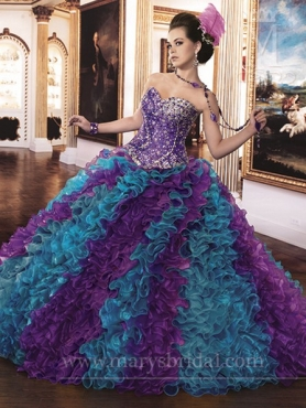 Discount Marys Quinceanera Dresses Style S13-4Q852