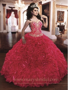 Discount Marys Quinceanera Dresses Style S13-4Q859