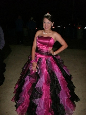 Discount Ball Gown Ruffles Multi-color Quinceanera Dress