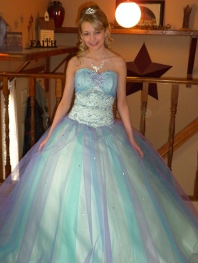 Discount Beading Sweetheart Multi-colored Quinceanera Dress