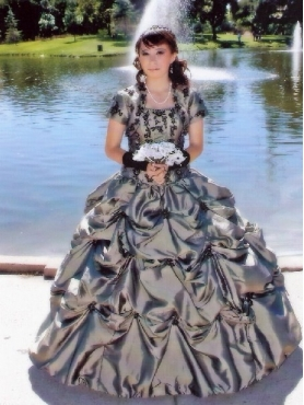 Discount Luxurious Strapless Appliques Pick-ups Quinceanera Dress