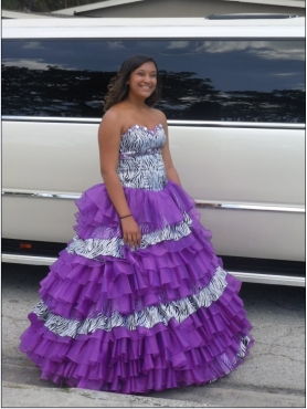 Discount Purple Sweetheart Beading Ruffled Layers Quinceanera Dress