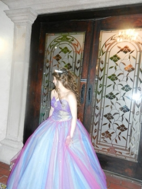 Discount Beading Sweetheart Multi Color Quinceanera Dress
