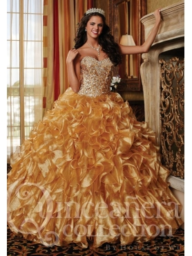 Discount 2014 House of Wu Quinceanera Dress Style HOWF003