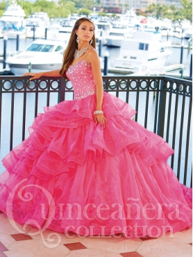 Discount 2014 House of Wu Quinceanera Dress Style HOWF005