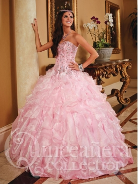 Discount 2014 House of Wu Quinceanera Dress Style HOWF006