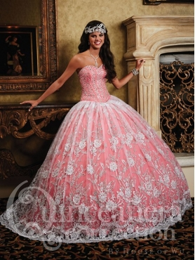 Discount 2014 House of Wu Quinceanera Dress Style HOWF011