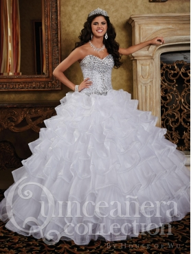 Discount 2014 House of Wu Quinceanera Dress Style HOWF013