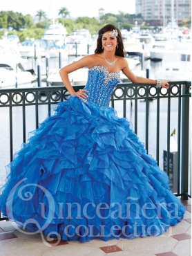 Discount 2014 House of Wu Quinceanera Dress Style HOWF015