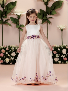 Discount 2014 Joan Calabrese Flower Girl Dresses Style PERJ008