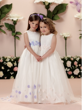Discount 2014 Joan Calabrese Flower Girl Dresses Style PERJ011