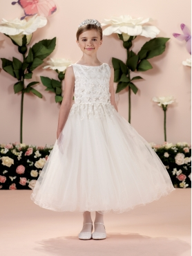 Discount 2014 Joan Calabrese Flower Girl Dresses Style PERJ016