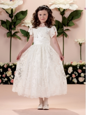 Discount 2014 Joan Calabrese Flower Girl Dresses Style PERJ019