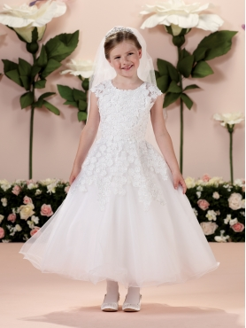 Discount 2014 Joan Calabrese Flower Girl Dresses Style PERJ020