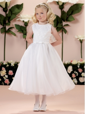 Discount 2014 Joan Calabrese Flower Girl Dresses Style PERJ024