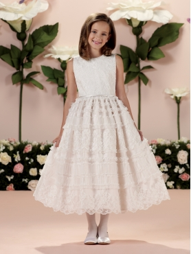 Discount 2014 Joan Calabrese Flower Girl Dresses Style PERJ026