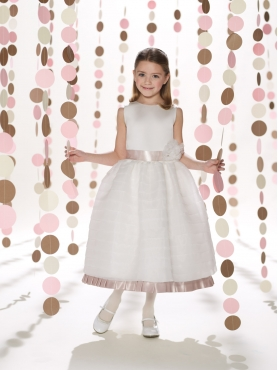 Discount 2014 Joan Calabrese Flower Girl Dresses Style PERJ033