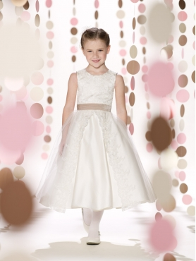 Discount 2014 Joan Calabrese Flower Girl Dresses Style PERJ038