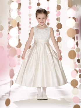 Discount 2014 Joan Calabrese Flower Girl Dresses Style PERJ040