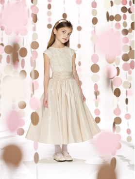 Discount 2014 Joan Calabrese Flower Girl Dresses Style PERJ041
