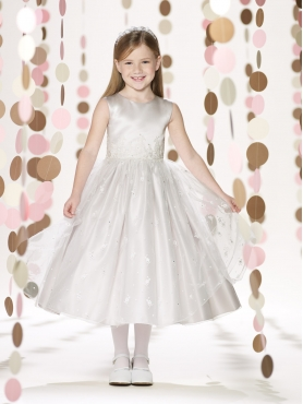 Discount 2014 Joan Calabrese Flower Girl Dresses Style PERJ042