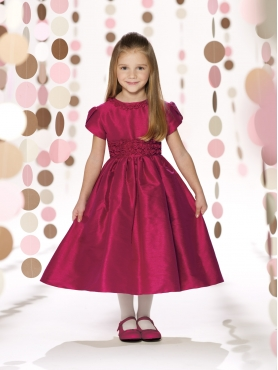 Discount 2014 Joan Calabrese Flower Girl Dresses Style PERJ043