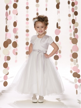 Discount 2014 Joan Calabrese Flower Girl Dresses Style PERJ044