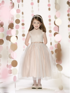 Discount 2014 Joan Calabrese Flower Girl Dresses Style PERJ048